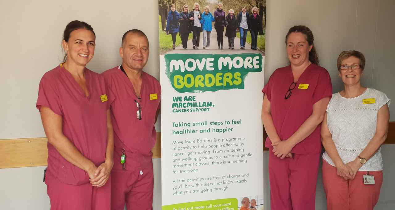 NHS Borders staff go 15,000 extra mile to promote initiative